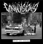 CONVULSIONS / NO GOD RETHORIC split 7 EP (PSYCHO 057) SOLD OUT