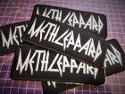 METH LEPPARD embroidered patch