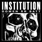 INSTITUTION - Domen Är Satt - 12 LP (HAVOC)