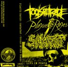 PLAGUE RAGES / TOOLS OF THE TRADE / SAKATAT 3 way split TAPE (GRINDFATHER)