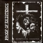 PROOF OF EXISTENCE - Scriptural Disaster - 12 LP (PUTRID FILTH CONSPIRACY)