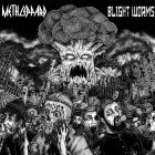 METH LEPPARD / BLIGHT WORMS split 7 EP (PSYCHO 066) YELLOW
