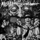 NOISEAR / LYCANTHROPHY split 7 EP (PSYCHO 038) BLACK